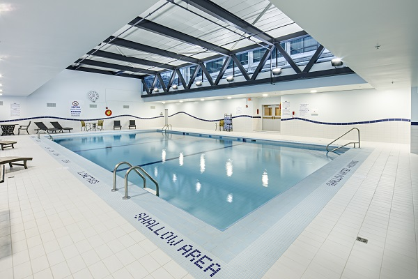 Delta Hotel Indoor Pool Renovation submitted by Mapei Inc.
